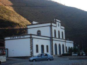 Estação Ferroviária de Ouro Preto/MG