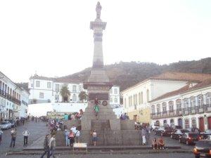 Praça Tiradentes - Ouro Preto/MG