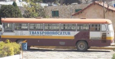 ônibus - são thomé das letras