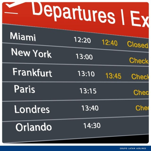Promoção LAN Airlines