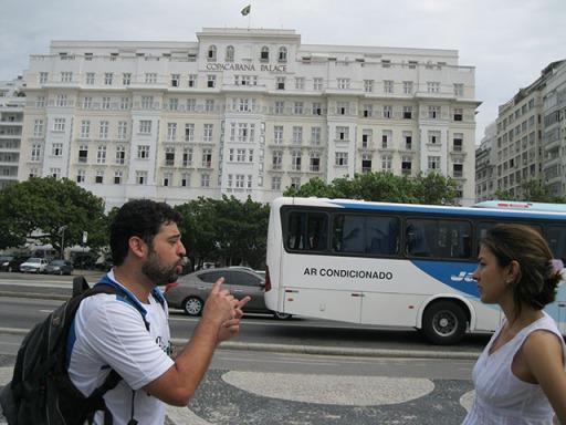 Copacapana Palace: Início do tour