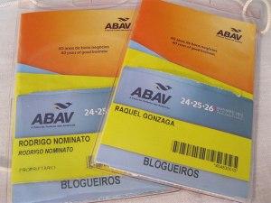 credencial dos blogueiros