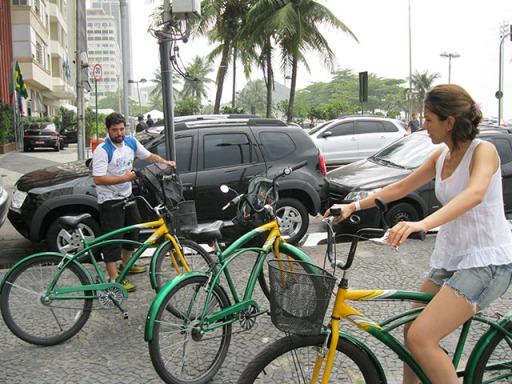 Orientações do tour de bicicleta