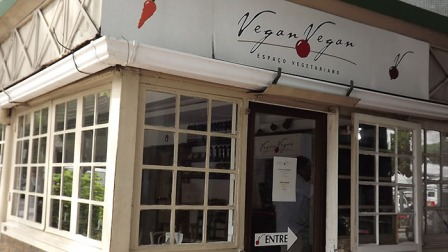 Entrada do Restaurante vegano Vegan Vegan