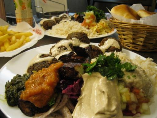 restaurante prato vegetarino