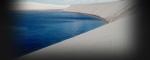 lagoa azul em lençois maranhenses