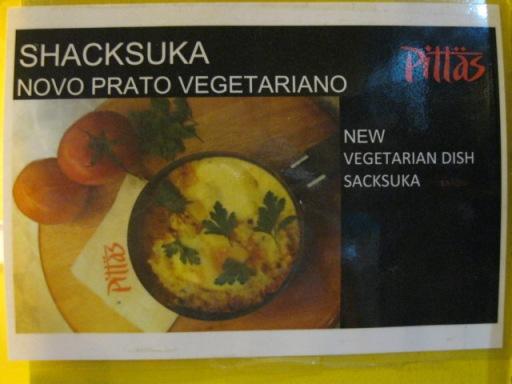 Novo prato vegetariano