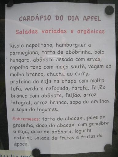 Cardapio Apfel