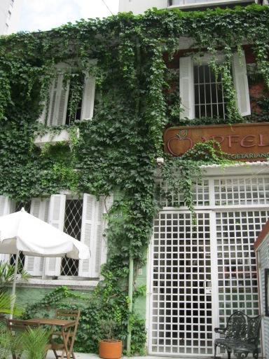 Fachada Apfel Restaurante