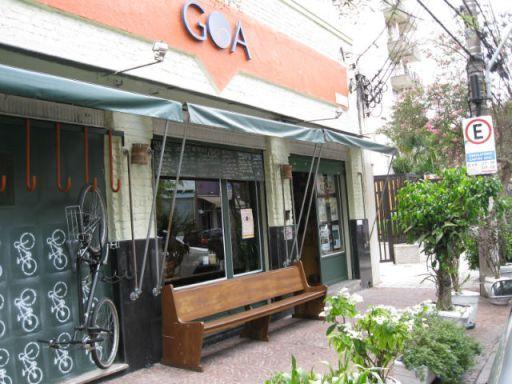 fachada restaurante goa