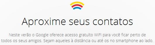 Google Free Wifi rio de janeiro