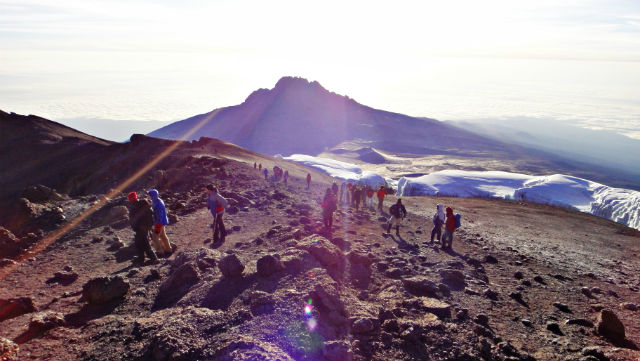 monte mawenzi - kilimanjaro