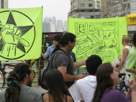 Parada Veg cartazes