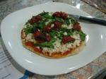 Pizza Chapeuzinho Vermelho (ricota e tomate seco)