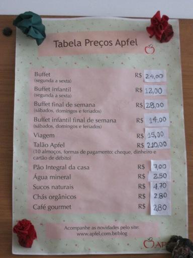 Precos Apfel