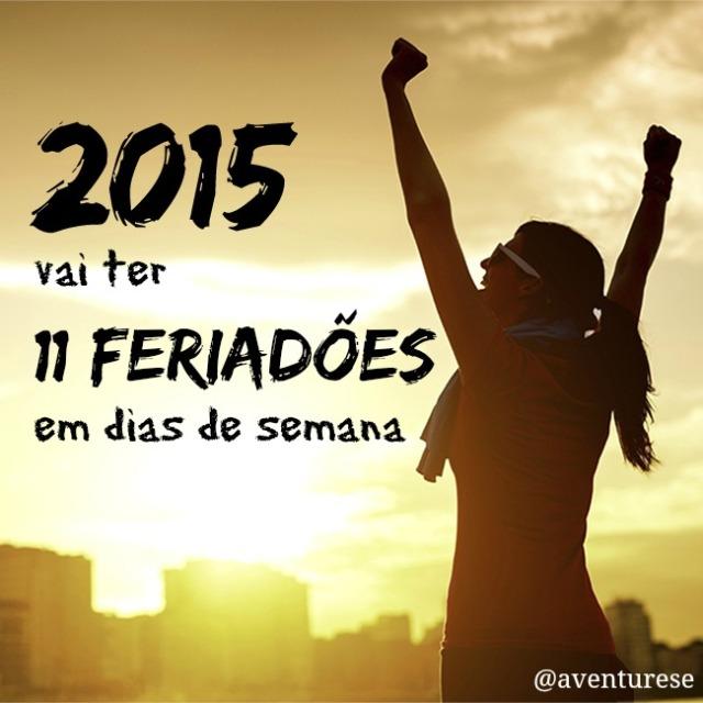 lista de feriados 2015