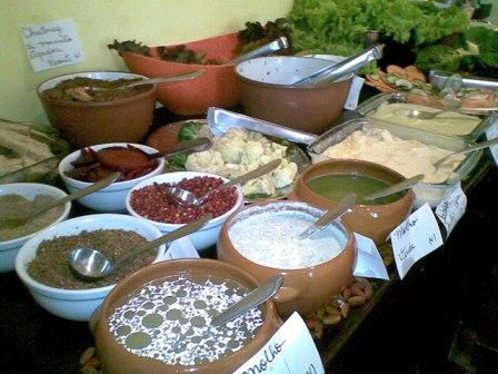 buffet molhos