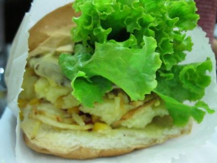 Hambúrguer do Chef Vegano