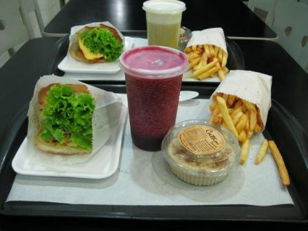 Hamburguer vegetariano e vegano