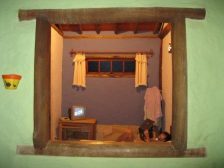 janela da pousada