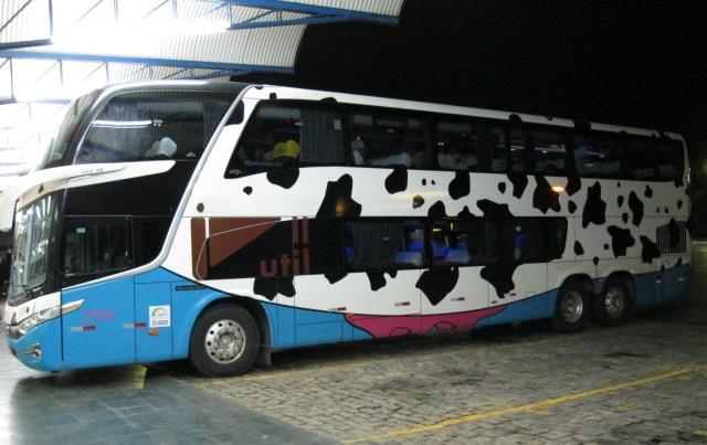 Ônibus Util: vaquinha/lateral