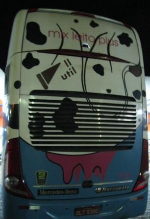 Ônibus Util: vaquinha/traseira