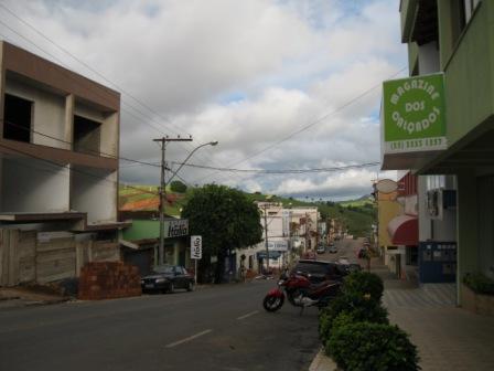 rua principal de Juruaia