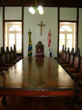 mesa do governador