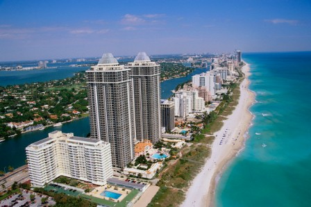 Hotels on Miami Beach
