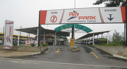 Entrada Air Park - Estacinamento Confins