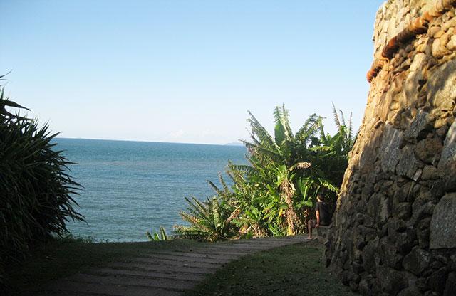 Forte da Barra florianopolis