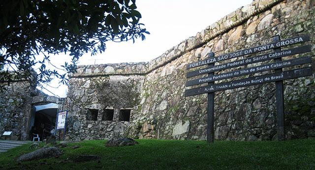 Fortaleza de São José da Ponta Grossa em jurere internacional