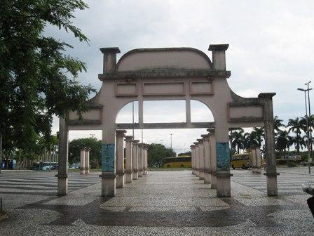 Largo da Alfandega em florianopolis
