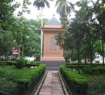 Monumento aos mortos na Guerra do Paraguai