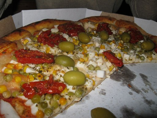 pedaco pizza vegana