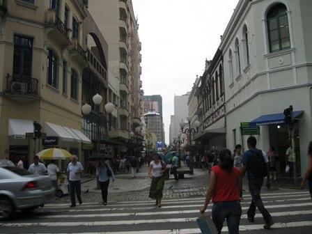 Rua no Centro florianopolis