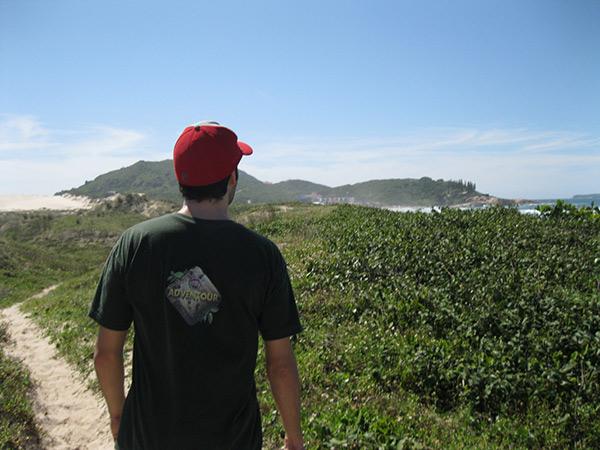 trilha ate praia joaquina