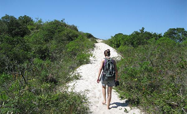 trilha pelas dunas florianopolis