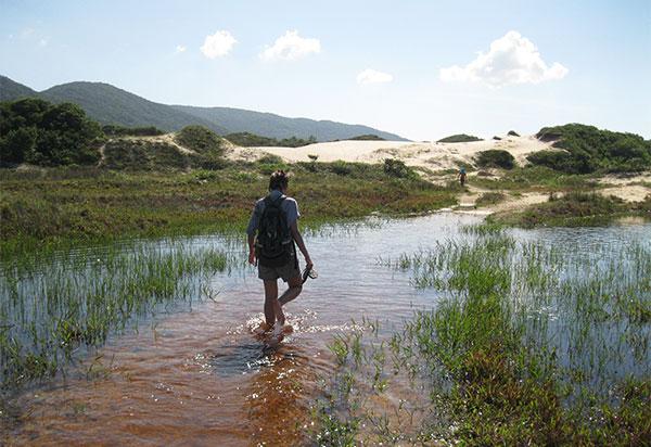 trilha por rio florianopolis