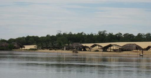 barco no rio preguicas