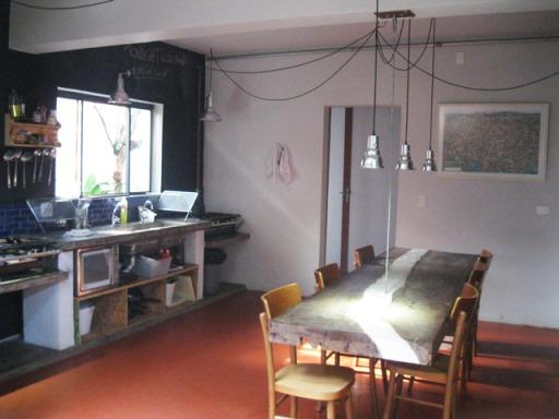 cozinha hostel