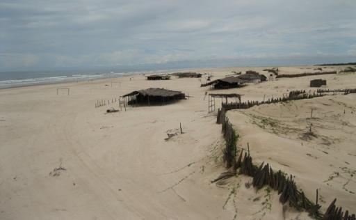 praia cabure