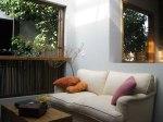 sofa do hostel