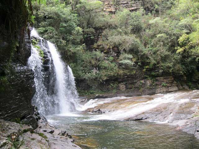 Cachoeira dos Anjos Carrancas MG Canyon da Zilda