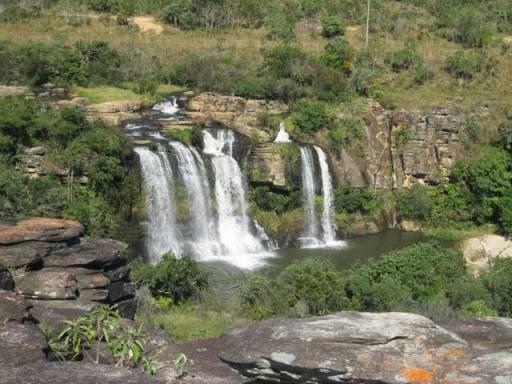 cachoeira vista do alto