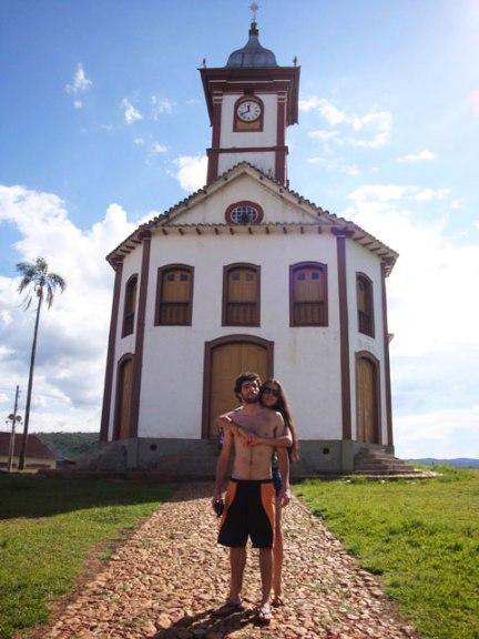 Igreja historica serro