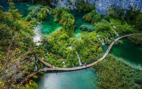 parque dos lagos croacia