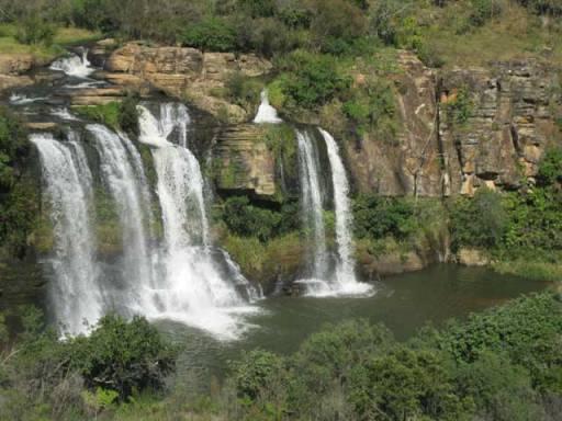 trilha da cachoeira