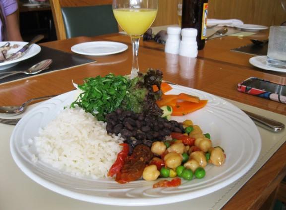 prato vegetariano hotel
