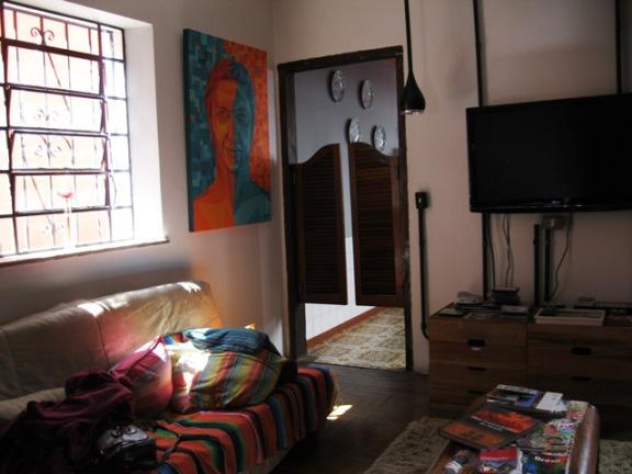 sala do hostel